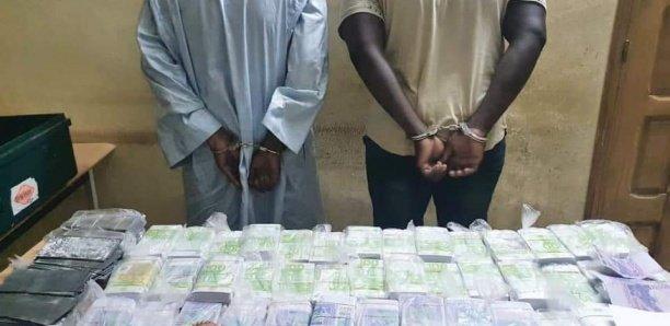 Cité Mixta: La DSC arrête deux trafiquants avec plus de 02 millions de frs Cfa en faux billets