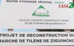 ZIGUINCHOR: RECONSTRUCTION DU MARCHÉ DE TILENE, LES DISPOSITIFS SÉCURITAIRES RENFORCÉS