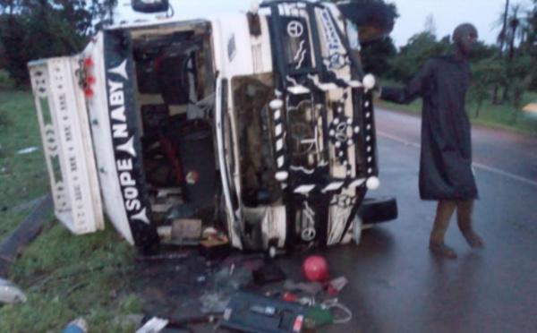 Sédhiou- Un accident de la circulation fait 18 blessés dont 3 dans un état critique