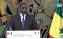 """Visite du Premier ministre canadien - Macky Sall se prononce sur les lobbies : """"Ay nitou diiné lagn, sounou ay lois méngoo woul ak...."""""""