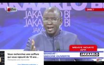 Vidéo – Après sa sortie polémique, Mbaye Ndiaye intervient en direct dans Jakaarlo bi et reprécise sa pensée