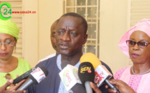 Professeur Ansoumana Diatta du comite de riposte contre le coronavirus sur le geste M. Alassane Sarr