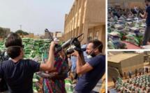 Arrêt sur image : France Télévision filme la distribution des kits alimentaires à Cambéréne