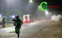 Ziguinchor ( VIDEO ):  Affrontements Violents Au Moment du Couvre feu.