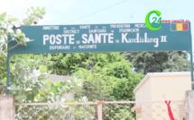 ZIGUINCHOR : POSTE DE SANTE KANDIALANG II, N'A NI EAU NI ÉLECTRICITÉ